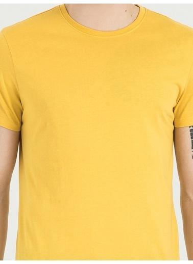 Loft Tişört Sarı